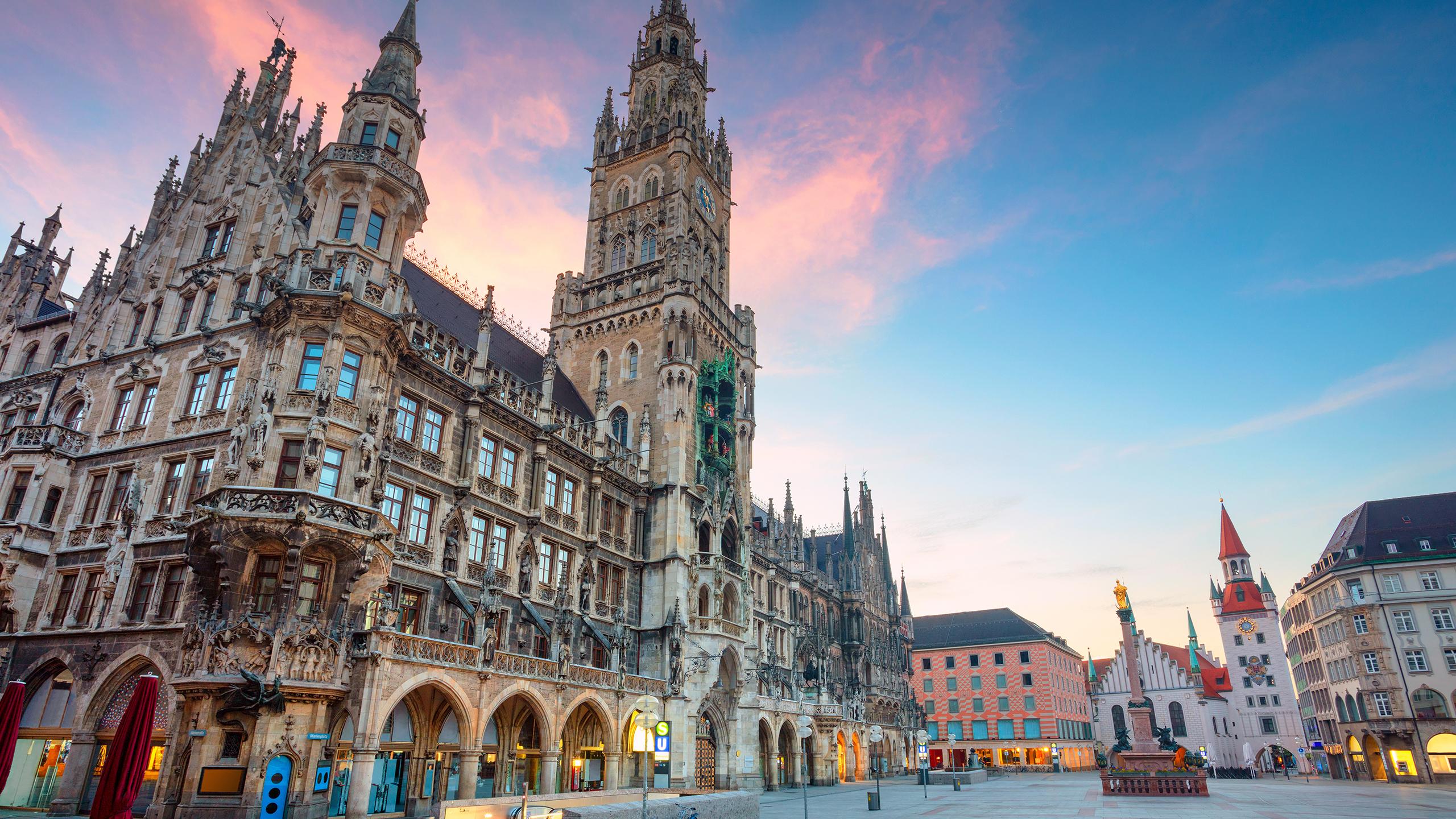 Die Innenstadt in München