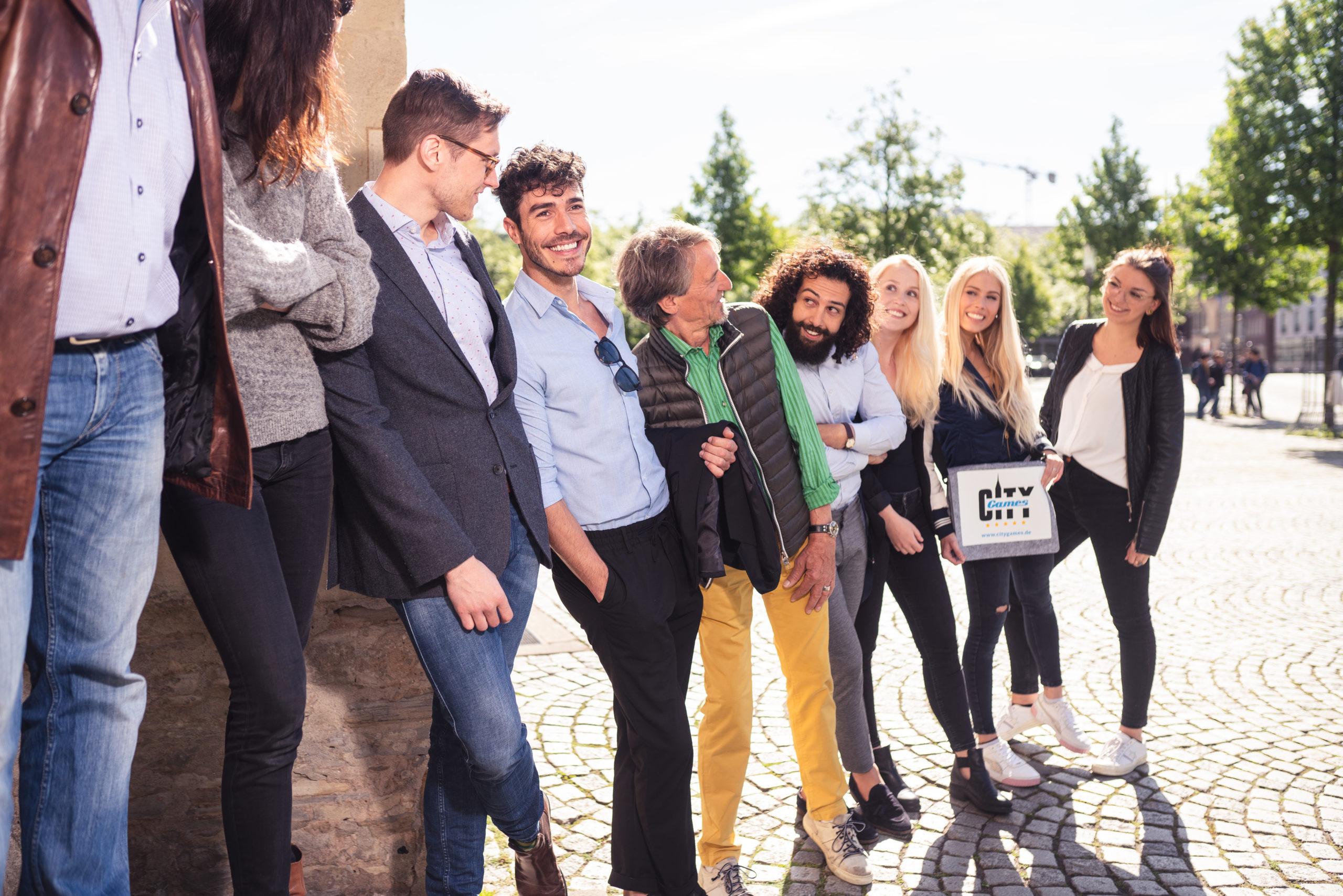 CityGames München Firmen Team Tour: Firmengruppe